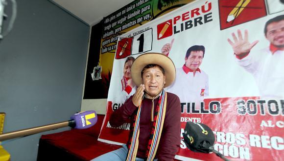 "Cusco: virtual congresista Guido Bellido asegura que Pedro Castillo es el Túpac Amaru ""que estábamos esperando"" (Foto: Juan Sequeiros)"