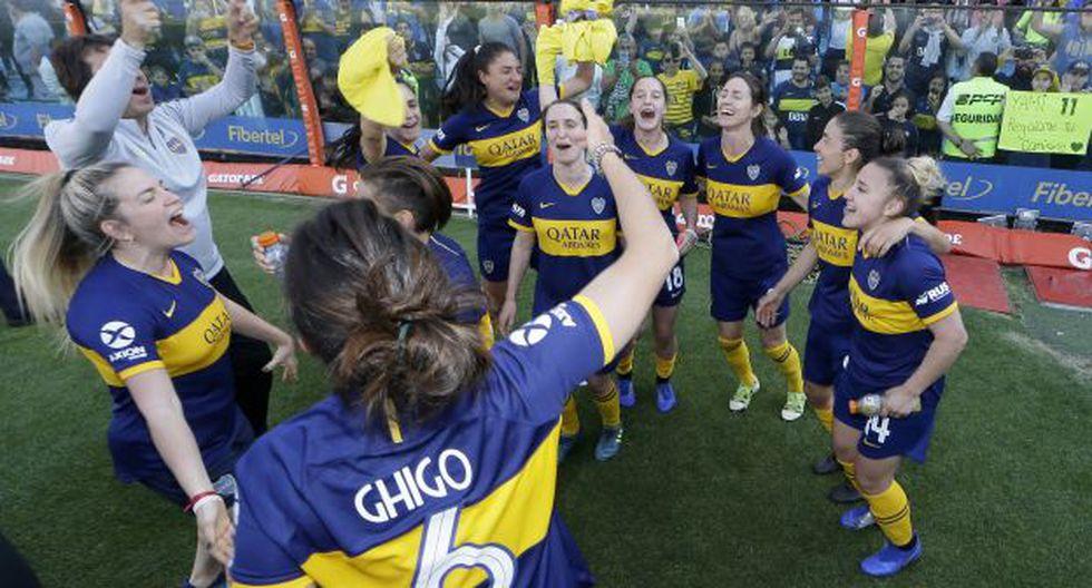 Boca Juniors se llevó la victoria en el primer clásico femenino ante River Plate. (Foto: Boca Juniors)