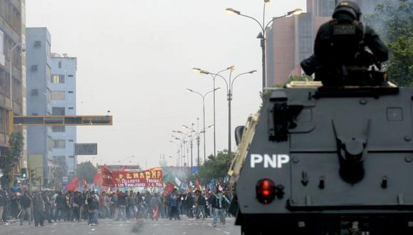 La marcha bloqueará el Centro de Lima. (David Vexelman)