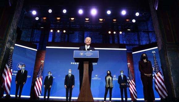 Al igual que Joe Biden, muchos de sus miembros del gabinete sirvieron de segundos en el gobierno de Barack Obama (2009-2017). (Foto: CHANDAN KHANNA / AFP)