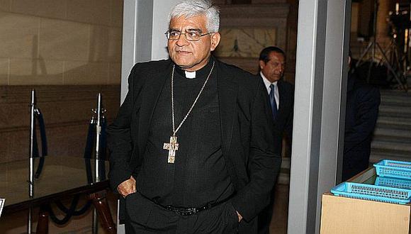 El religioso escuchó a representantes de comunidades aledañas a Conga. (USI)