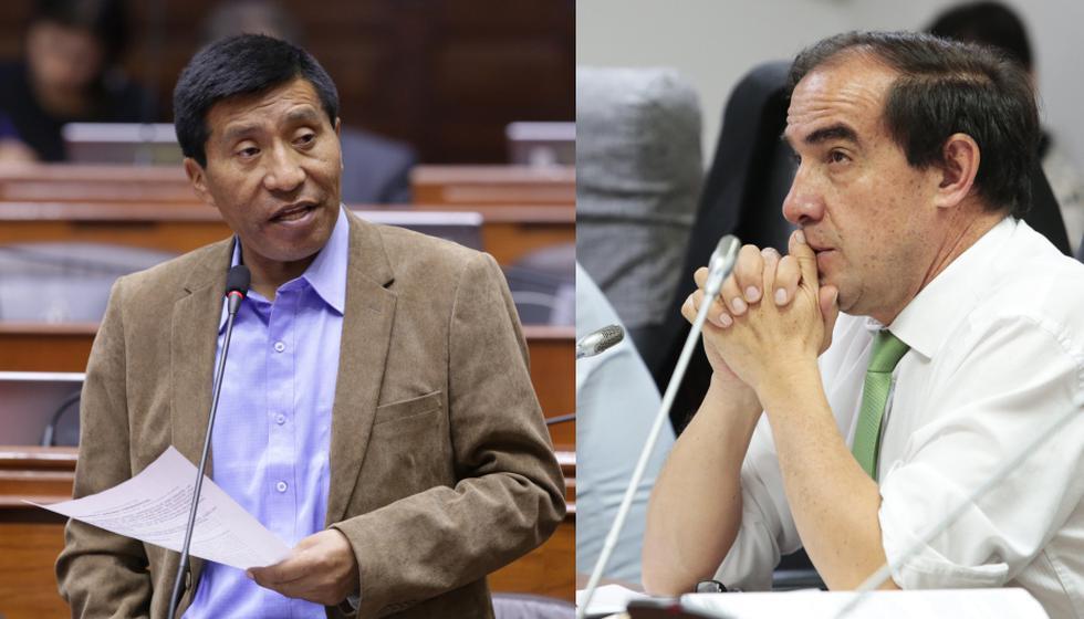 "Mamani señaló a Lescano como un ""acosador"". (GEC/Congreso)"