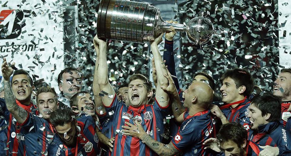 San Lorenzo se consagró campeón por primera vez de la Copa Libertadores tras vencer 1-0 a Nacional de Paraguay. (AP)