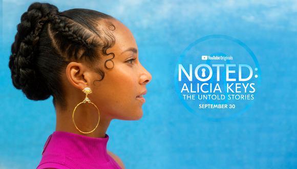 'Noted: Alicia Keys The Untold Stories': Docuserie de la cantante estrena trailer