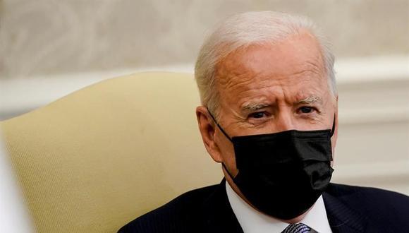 Biden admite que su país no está en condiciones ahora de mandar vacunas fuera  (EFE/EPA/Amr Alfiky).