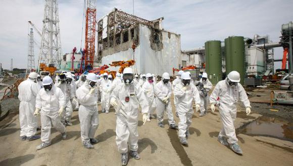 ALERTA. Si no se toman medidas, podría ocurrir otro desastre como el de la planta Fukushima Daiichi. (Bloomberg)