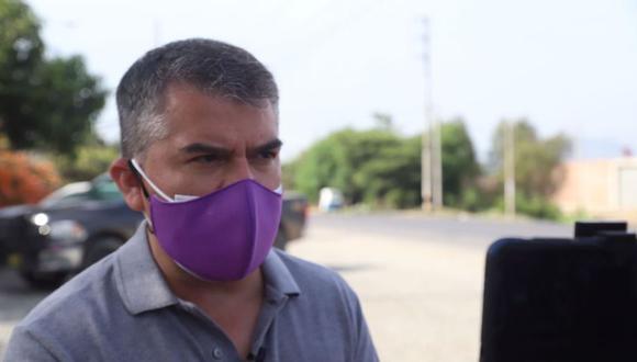 """Julio Guzmán aseguró que creará un cargo para un """"zar de las vacunas"""" contra el coronavirus. (Foto: GEC)"""