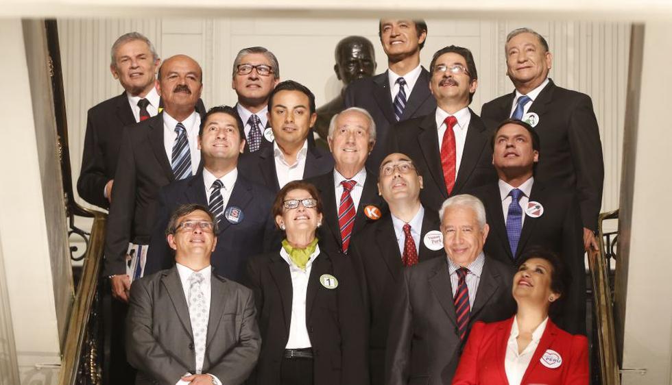 Debate entre candidatos a la Alcaldía de Lima estuvo marcado por pullazos. (Perú21)