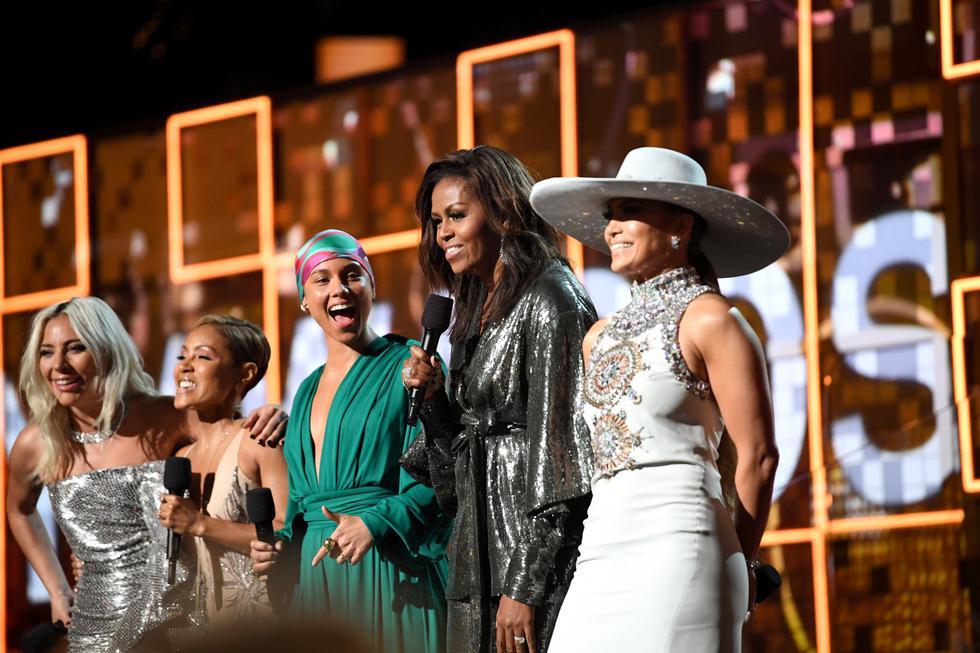 Michelle Obama fue la elegida para enviar mensaje de empoderamiento a toda las mujeres del mundo.  (Foto: AFP)