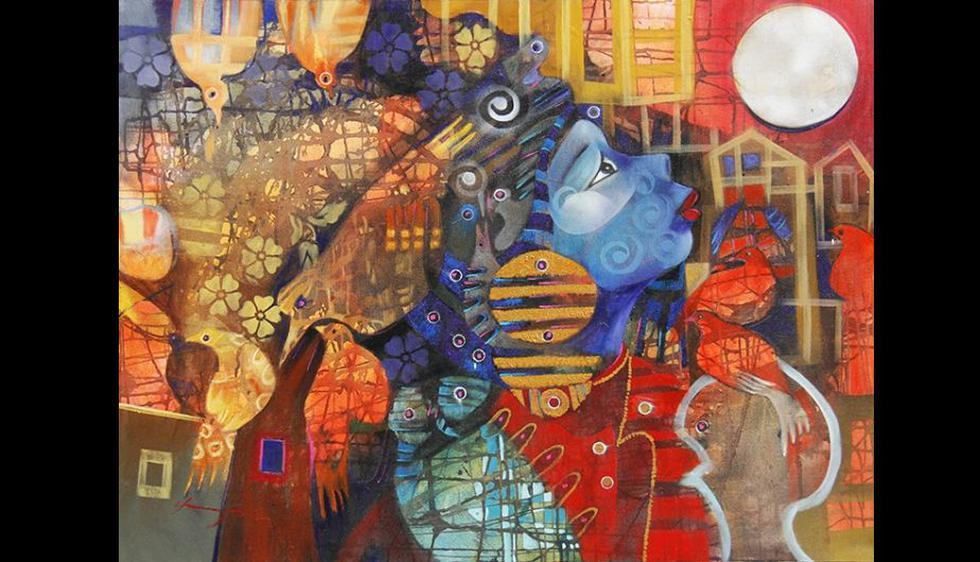 'Diosa de la Luna' de Claudio Chunga Yarleque.