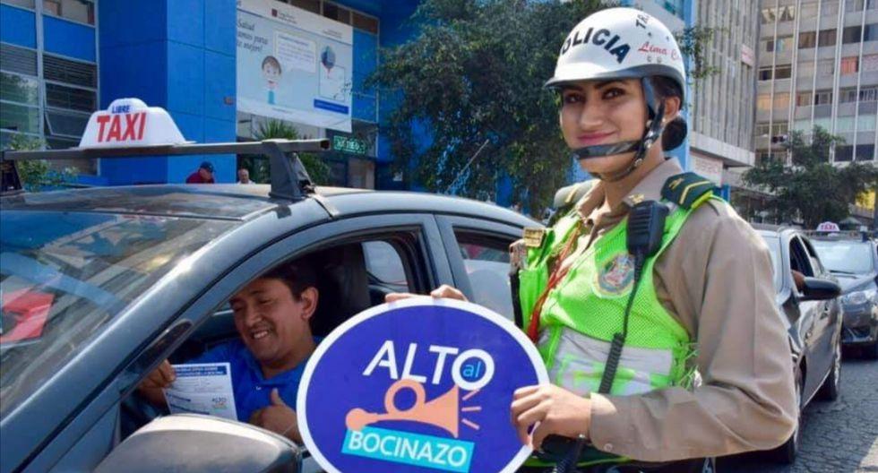 Municipalidad de Lima realizó campaña de sensibilización en las calles de la capital junto a la Policía. (FOTO: MML)