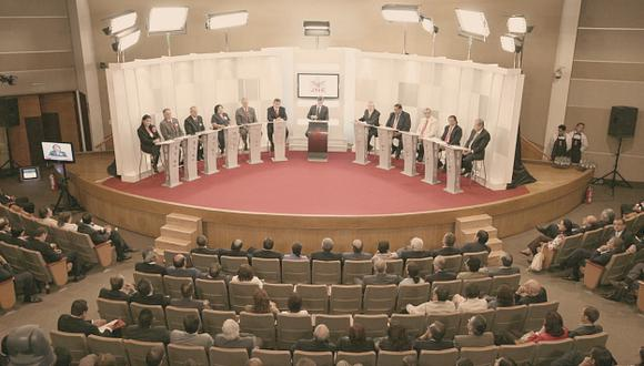 Debate electoral: Una tradición de peleas sobre propuestas. (JNE)