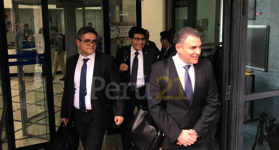 Rafael Vela se mostró satisfecho con las declaraciones de Jorge Barata. (Oscar Quispe - Perú21)