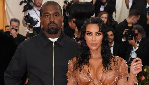 ¿El matrimonio de Kim Kardashian y Kanye West en problemas tras candidatura del rapero? (Foto: AFP/Angela Weiss)
