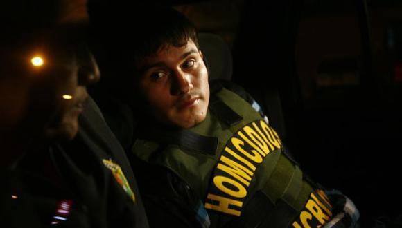Bryan podría recibir cadena perpetua, pues hubo secuestro y asesinato con fines de lucro, según la Policía. (Alberto Orbegoso)