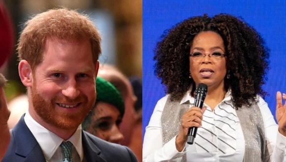 Oprah Winfrey y Enrique de Sussex se asociaron tras la entrevista que ofreció junto a su esposa Meghan de Sussex. (Foto: AFP)