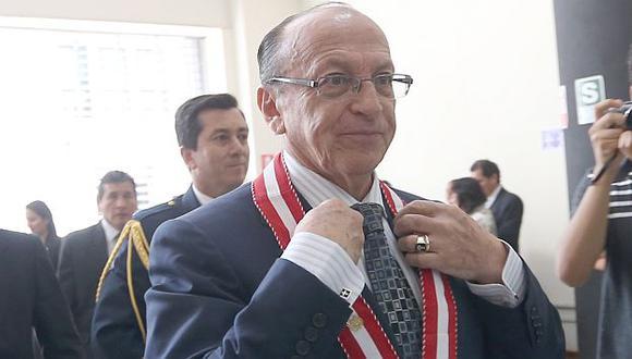 Gestión de fiscal Peláez en lucha anticorrupción es un desastre, según Arbizu. (Fidel Carrillo)
