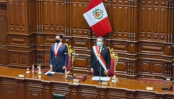 94% de peruanos está en desacuerdo con el nombramiento de Manuel Merino como presidente de la República. (Foto: Congreso).