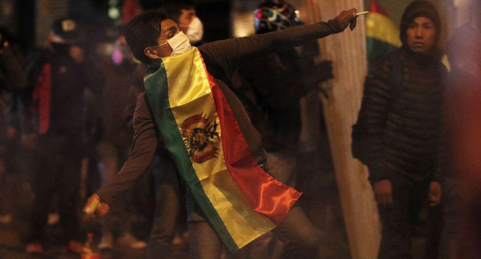 Protestas en Bolivia: La Paz y El Alto registraron incidentes en jornada de protesta. (Foto: AP)
