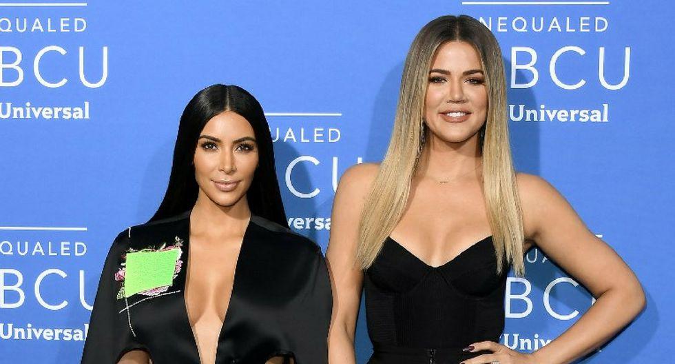 Kim Kardashian apoya decisión de Khloé Kardashian | Foto: AFP