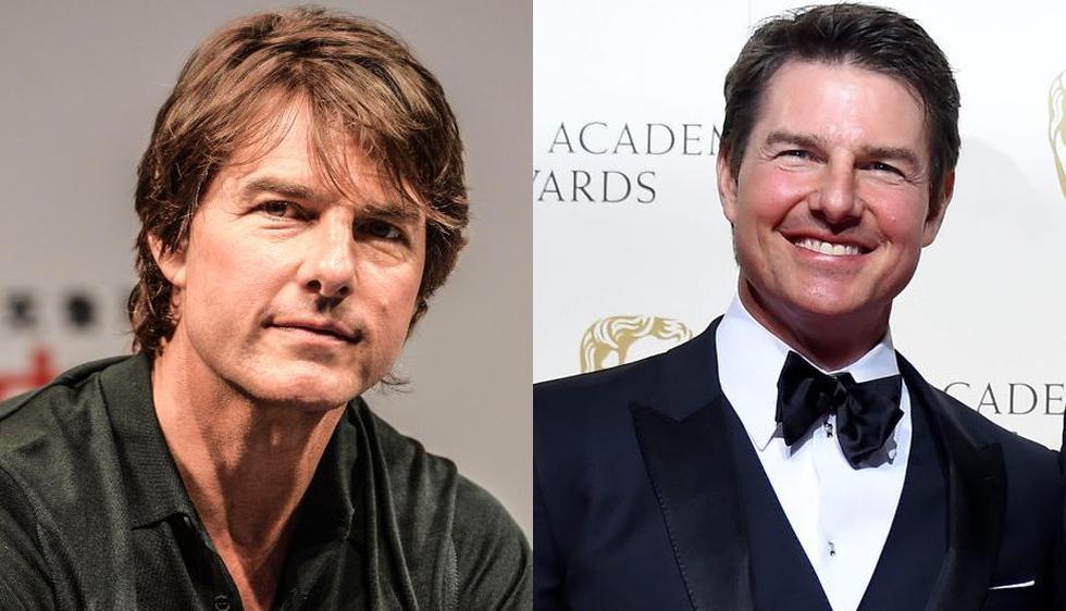 A la izquierda, Tom Cruise lucía así en setiembre pasado. A la derecha, en los BAFTA 2016. (AFP/EFE)