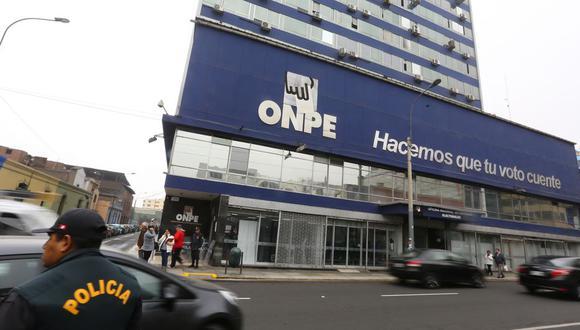 La ONPE precisó que son siete los partidos políticos que celebrarán elecciones a través de un militante un voto. (Foto: GEC)