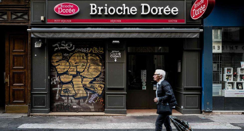 El hecho sucedió el viernes delante de una panadería de una calle peatonal en el centro de Lyon. (Foto: AFP)