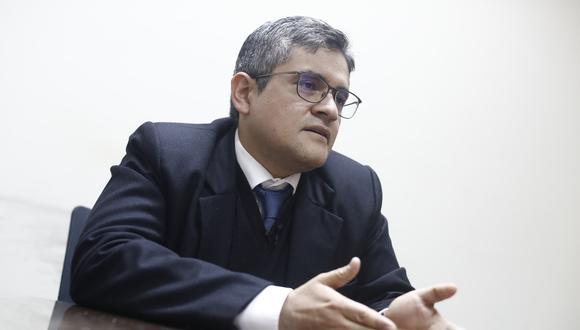 """Pérez explicó que la investigación por presuntos cobros a Julio Guzmán se archivó debido a que el excandidato presidencial presentó """"algunas contradicciones, inconsistencias e incoherencias"""" en su manifestación. (Foto: GEC)"""