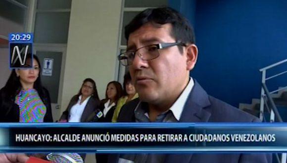 El burgomaestre de Huancayo ratificó su posición de malestar por el aumento de extranjeros en la ciudad. (Video: Canal N)