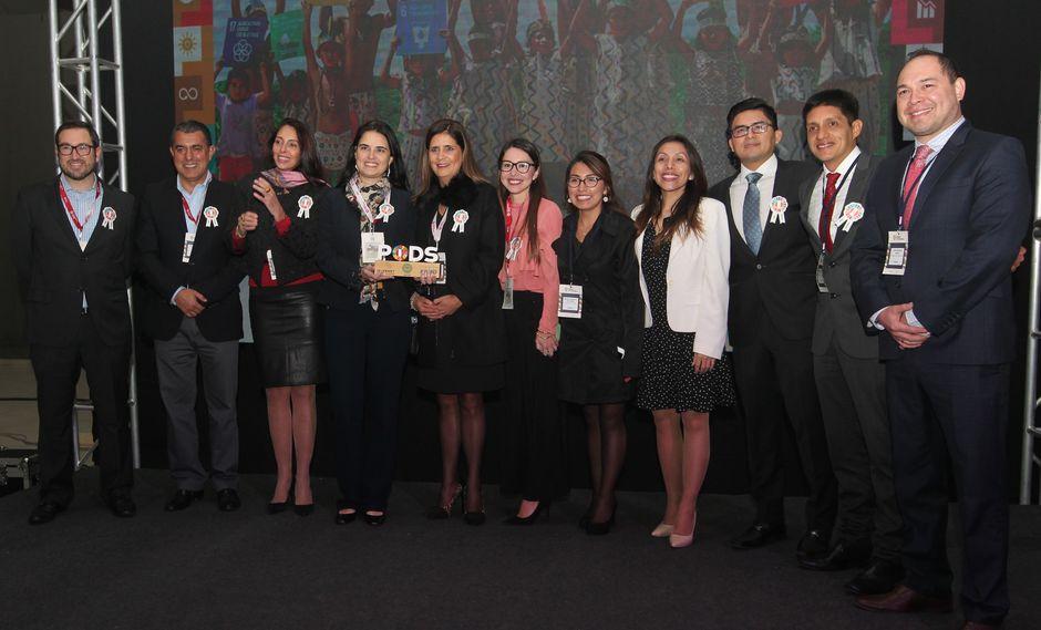 """""""Internet para Todos"""" (IPT) fue reconocida en la categoría Alianzas del premio """"Perú por los Objetivos de Desarrollo Sostenible"""", organizado por la asociación Perú 2021 (Difusión)"""
