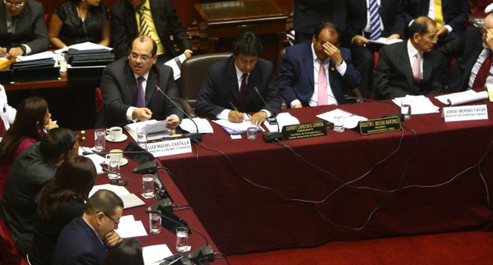 Asistieron los ministros Castilla y Merino. (Rafael Cornejo)