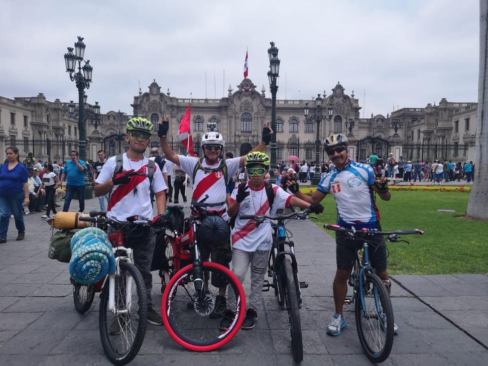 Ciudadanos podrán realizar ciclismo en la Plaza de Armas este domingo. (GEC)