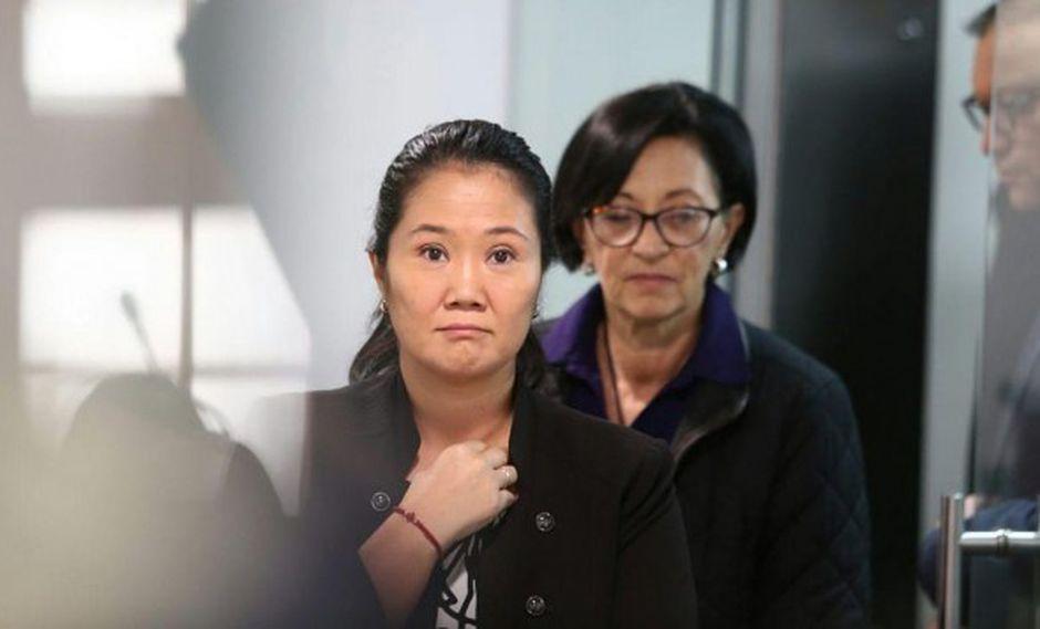 Admiten a trámite recurso de casación presentado por la defensa de Keiko Fujimori. (Foto: GEC)