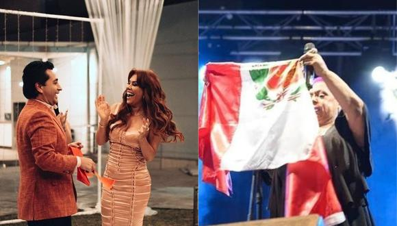 Lucía de la Cruz desea cantar con esposo de Magaly Medina. (Foto: @magalymedinav/@luciadelacruzcantante).
