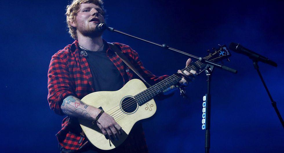 Ed Sheeran reveló cuantos millones ganó durante la realización de su última gira musical. (Foto: EFE)