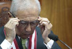 Chávarry renunció a su cargo de Fiscal de la Nación