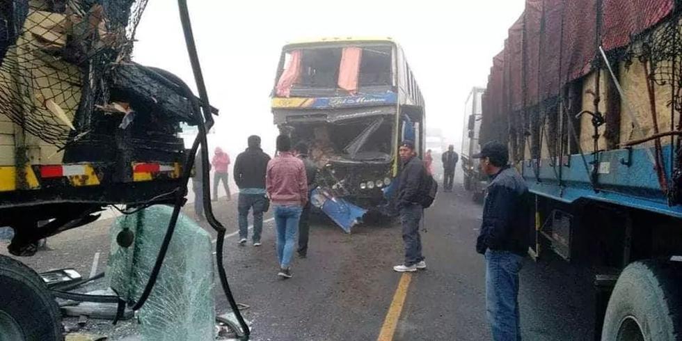 Accidente en la Quebrada del Toro, Arequipa. (Miguel Idme)