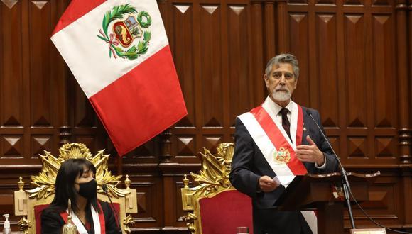 Bancadas rechazan posible moción de censura contra el presidente Francisco Sagasti.