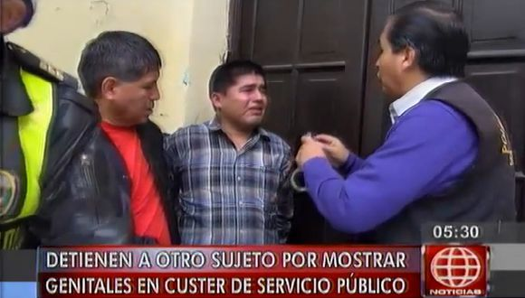 Detienen a sujeto por mostrar sus genitales a escolar. (Captura de video)