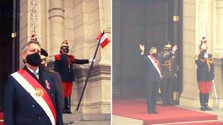 Francisco Sagasti se despide de la presidencia del Perú