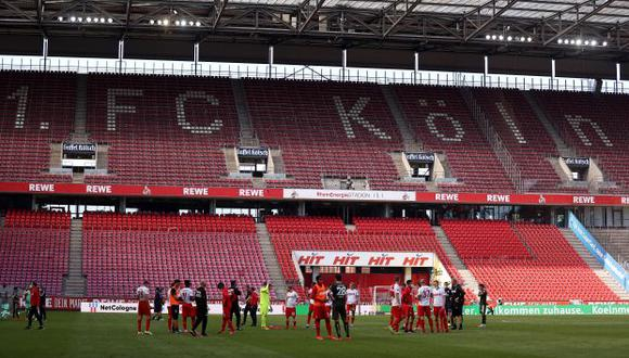 Colonia empató 2-2 ante Mainz en el reinicio de la Bundesliga. (Foto: AFP)