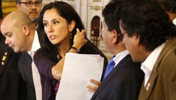 SACANDO PROVECHO. Nadine Heredia se beneficiaría del escrito presentado por su hermano si el juez declara fundado el recurso mañana. (César Fajardo)