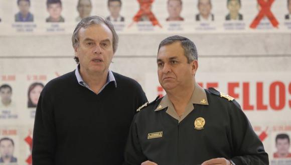 General Vicente Romero fue director de la Policía Nacional hasta setiembre pasado.