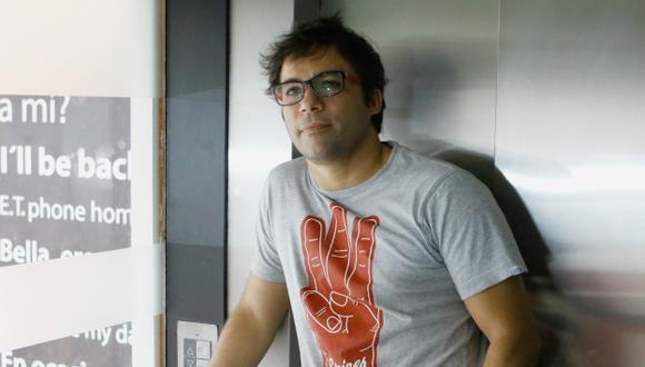 Renzo Schüller: Actor y conductor de televisión. (Roberto Cáceres)