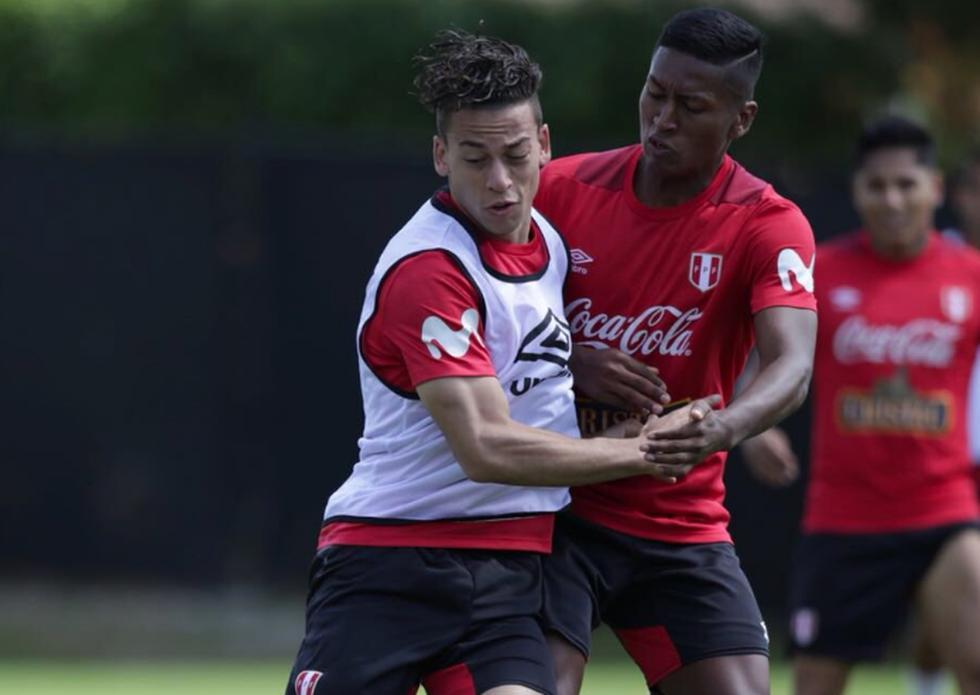 Cristian Benavente no jugaba con la selección desde el 2016. (Twitter @SeleccionPeru)