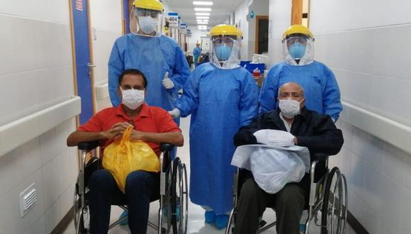El Minsa informó que la cifra de pacientes que se recuperaron de COVID-19 aumentó este miércoles. (EsSalud)