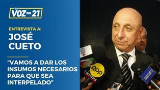 """José Cueto sobre Bellido: """"Vamos a dar los insumos necesarios para que sea interpelado"""""""