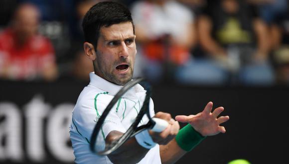 Djokovic vs. Raonic se enfrentan en los cuartos de final del Abierto de Australia. (Foto: AFP)