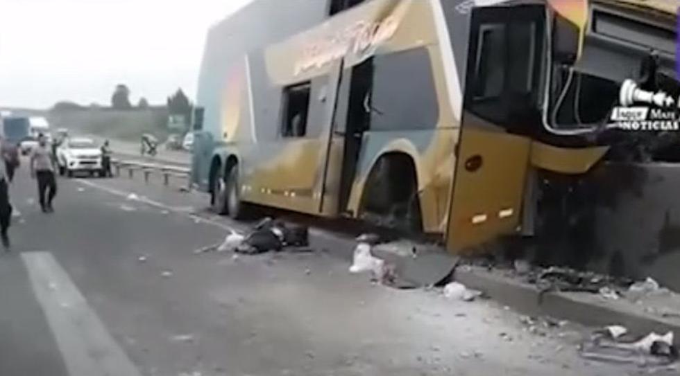 Huacho: 7 simpatizantes apristas mueren en accidente de tránsito cuando iban al sepelio de Alan García