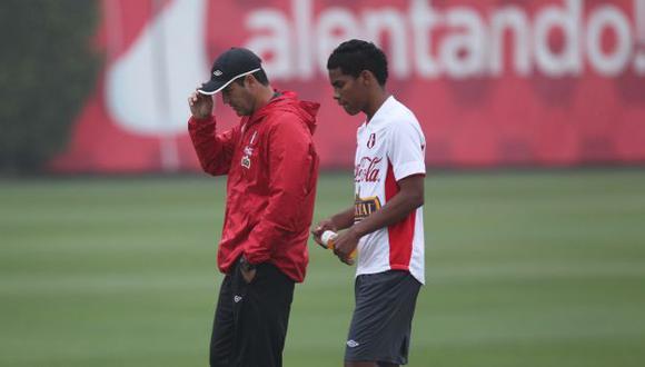 Daniel Ahmed está impactado por la muerte del jugador de Sporting Cristal. (Leonardo Fernández/Depor)
